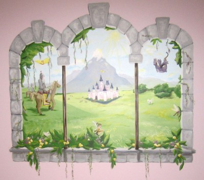 Princess Castle with Knights