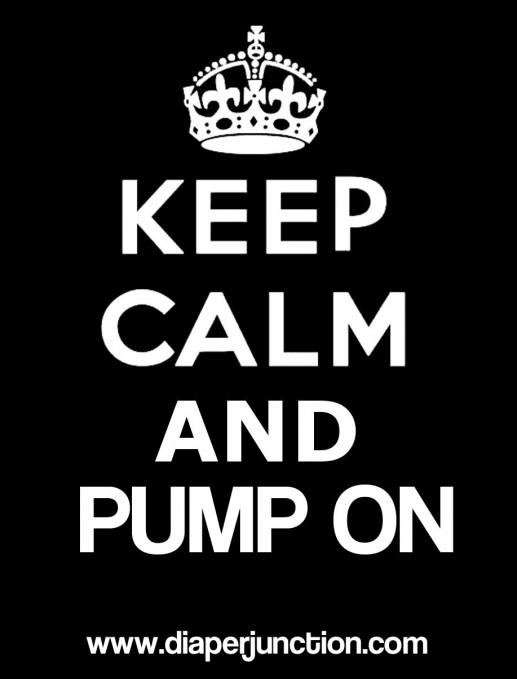 keep calm pump on